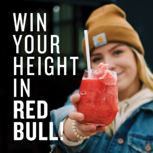 hudsons pub back to school red bull contest